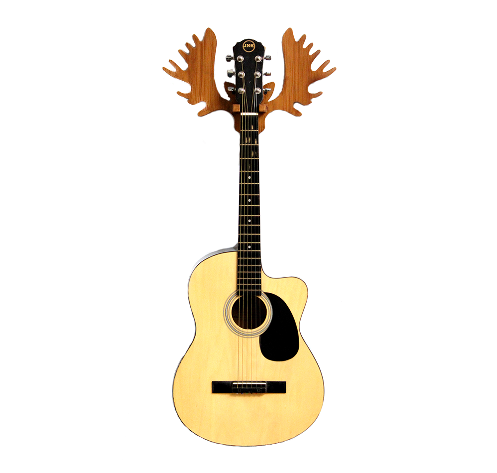 Guitar Wall Hanger – Reindeer Horns